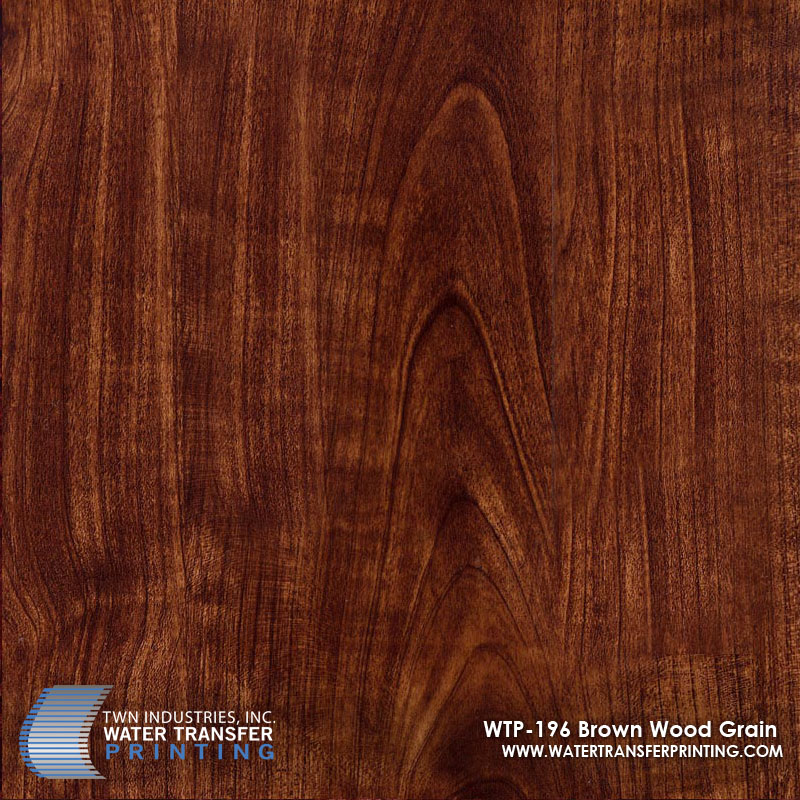 WTP-196 Brown Wood Grain