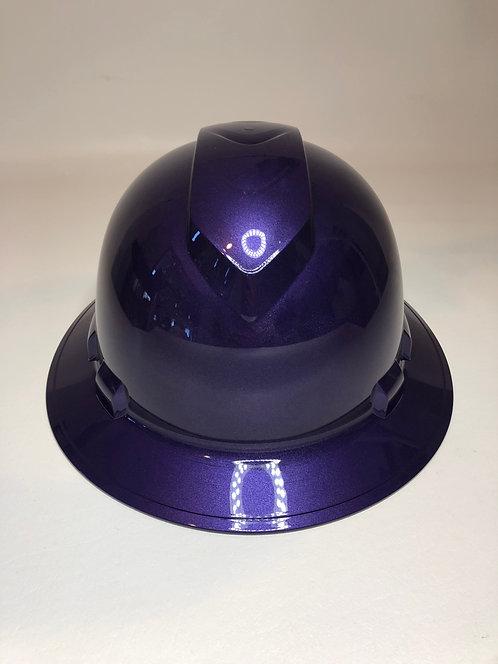 Plum Crazy Purple Full Brim Hard Hat