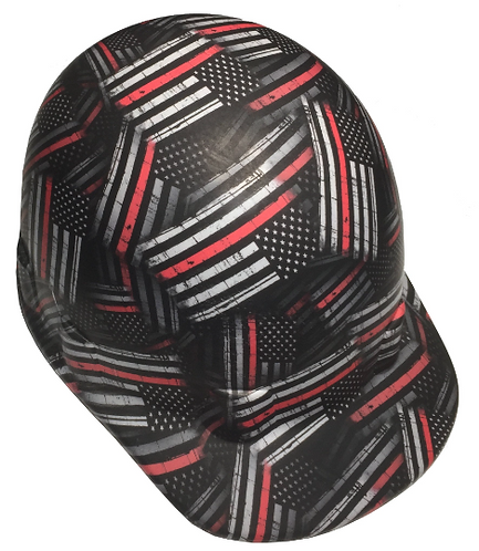 American Flags Thin Red Line SL Series Cap Style