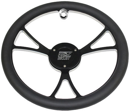 Custom RBZ Billet Racing Steering Wheel Classic 2.0 With One Button Hole