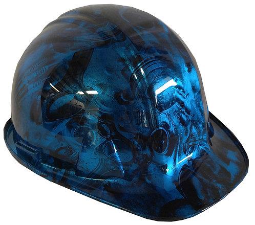 Kandy Light Blue SL Series Turbos & Pistons