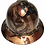 Thumbnail: Copper Metallic American Flags Ridgeline Full Brim