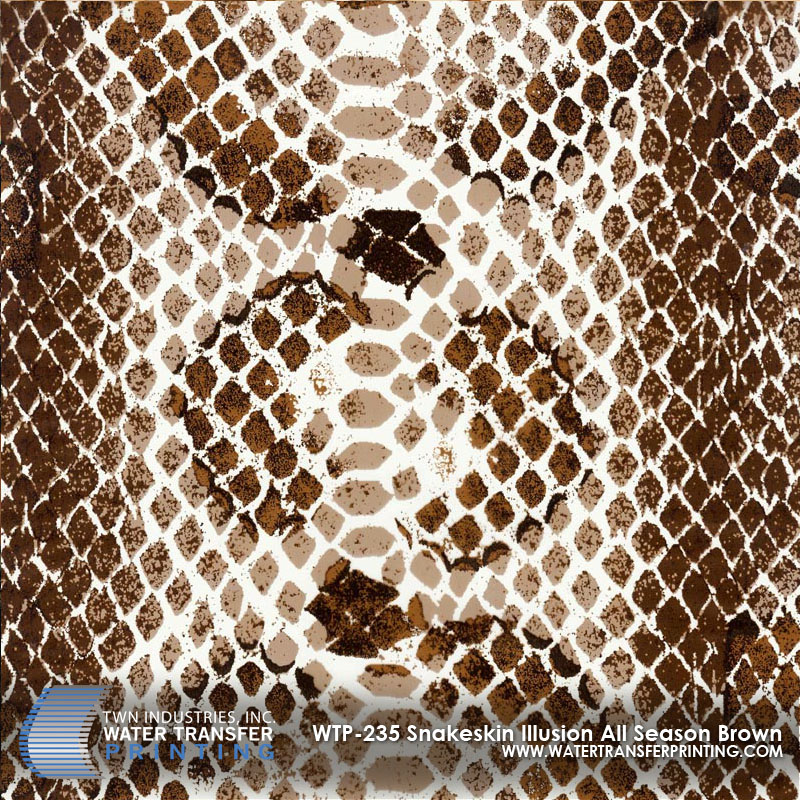 WTP-235 Snakeskin Illusion All Season Brown