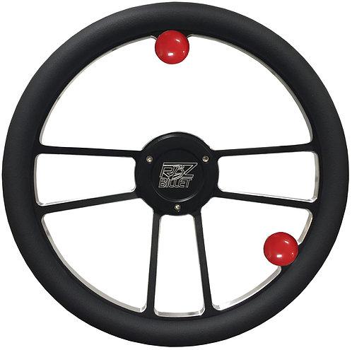 Custom RBZ Billet Racing Steering Wheel Custom 2 With 2 Buttons