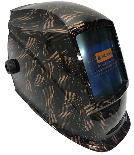 Copper Metallic Negative Flags WHAM30 Series Welding Helmet