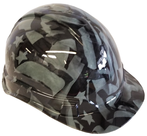 Gray Midnight American Flags Ridgeline Cap Style