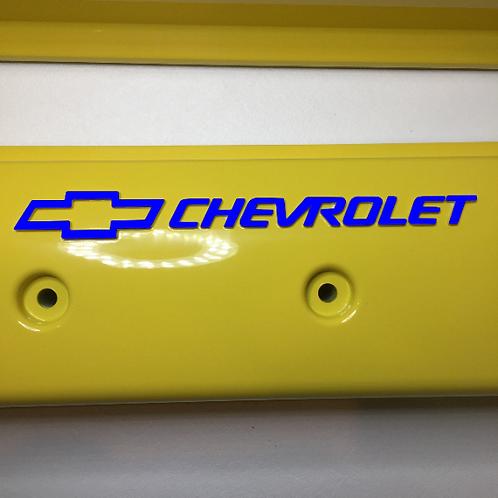 Chevy Small Block ZZ6/Vortec Center Bolt  Holley 241-290 Yellow W/Black