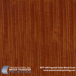 WTP-480 Figured Cedar