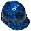 Thumbnail: Oriental Blue Naughty Boy MSA V-Gard Cap Style High Gloss