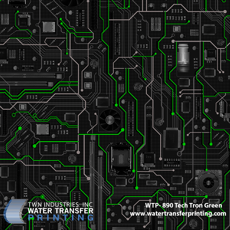 WTP-890 Tech Tron Green