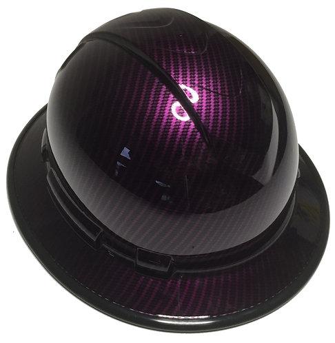 Ridgeline Full Brim Purple Kandy Carbon Fiber Black EdgeGard