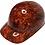 Thumbnail: Orange Burlap Bump Cap