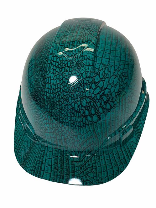 Ridgeline Cap Style Dark Green SnakeSkin