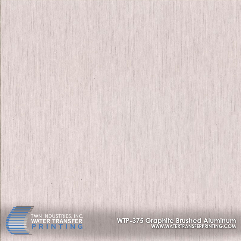 WTP-375 Graphite Brushed Aluminum