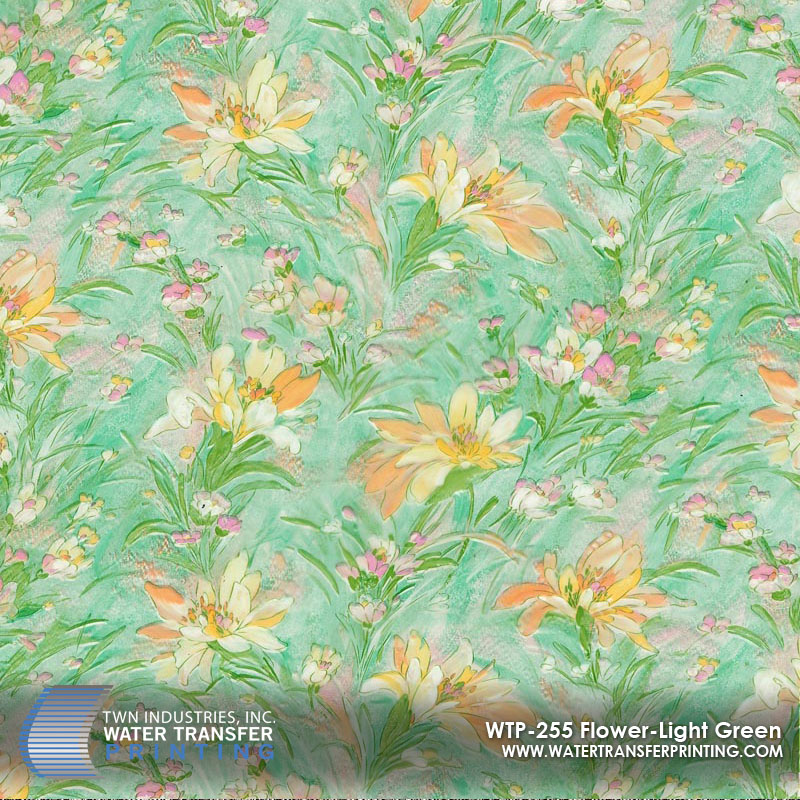 WTP-255 Flower-Light Green