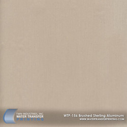 WTP-156 Brushed Sterling Aluminum