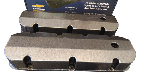 Engine Valve Cover Set-GM Licensed Track Series Valve Cover Holley 241-280