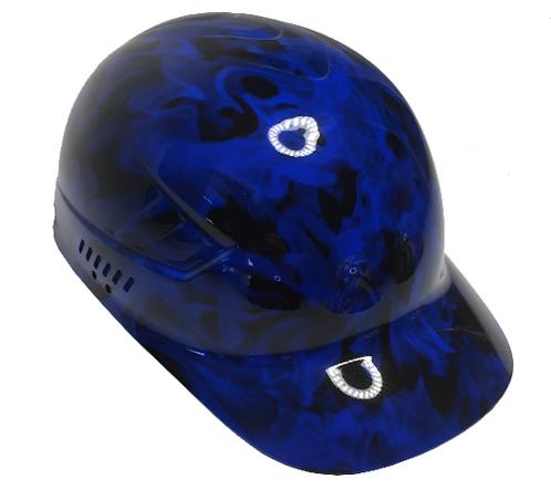 Blue Flames Bump Cap