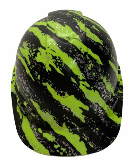 HiVis Green Marble Splash Ridgeline Cap Style