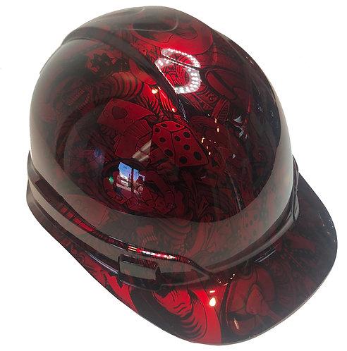 Kandy Red Gambler Ridgeline Cap Style