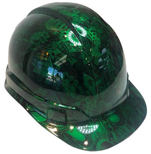Kandy Green Gambler Ridgeline Cap Style
