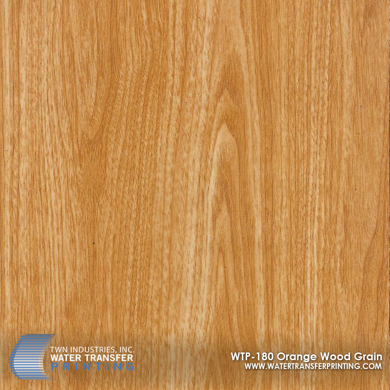 WTP-180 Orange Wood Grain