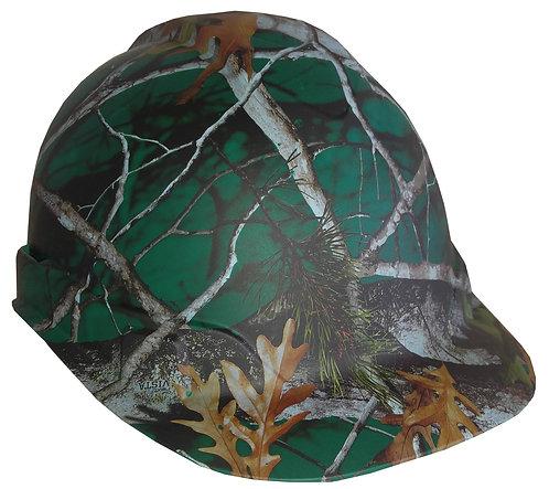 Matte Green Vista Next Camo Hard Hat