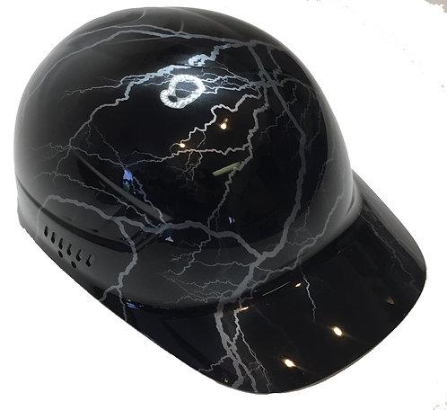 Silver Lightning Bump Cap