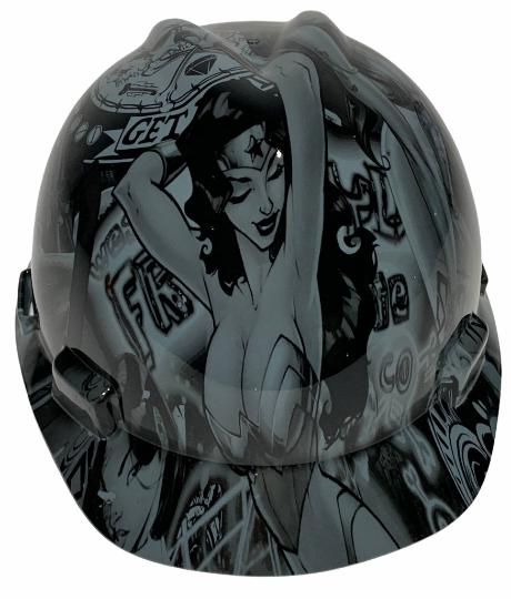 Gray Wonder Woman MSA Cap Style