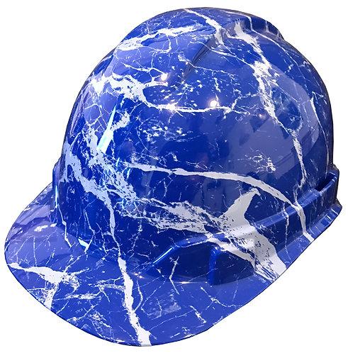 Blue Marble Hard Hat