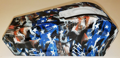 Hydro Dipped B&M Shifter Cover American Flags Color