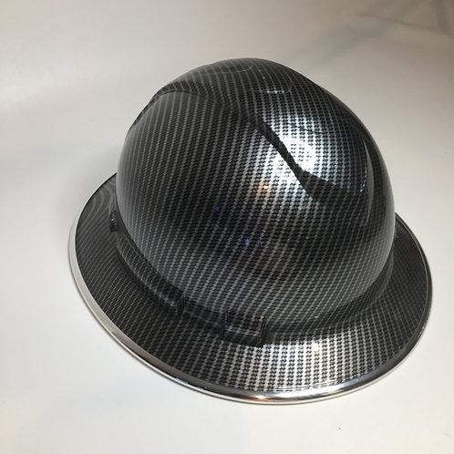 Carbon Fiber Full Brim W/Chrome EdgeGuard
