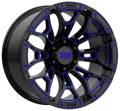 XD841 BONEYARD BLUE TRANSLUCENT 2
