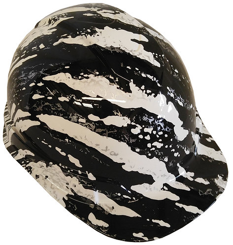 White Marble Splash Hard Hat