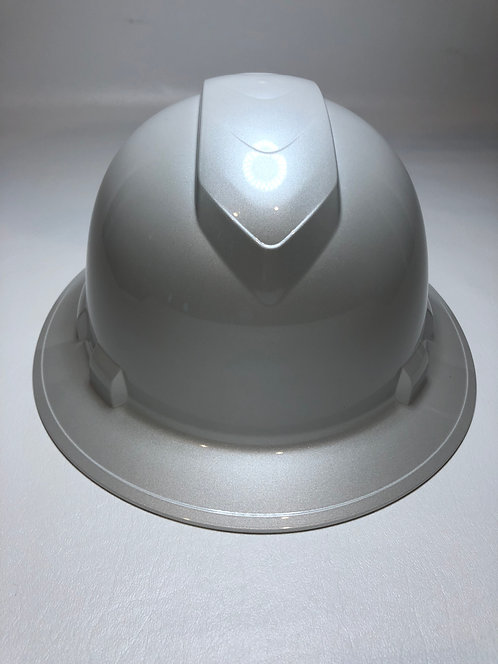 Full Brim Pearl White