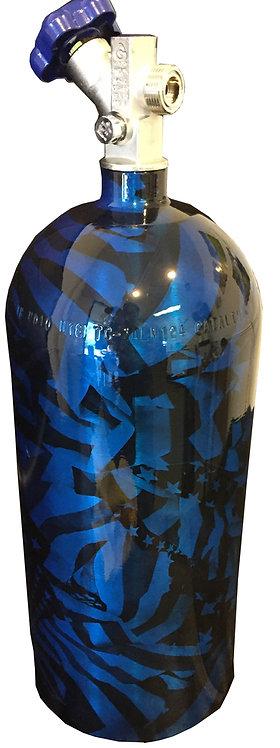 10lb Nitrous Oxide Midnight American Flag Bottle NOS 14745NOS