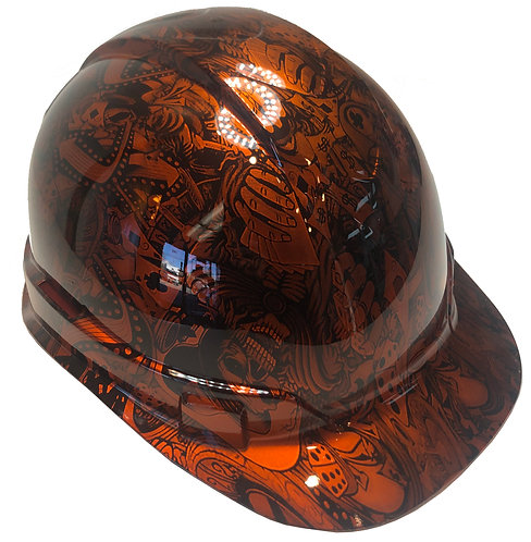 Kandy Orange Gambler Ridgeline Cap Style