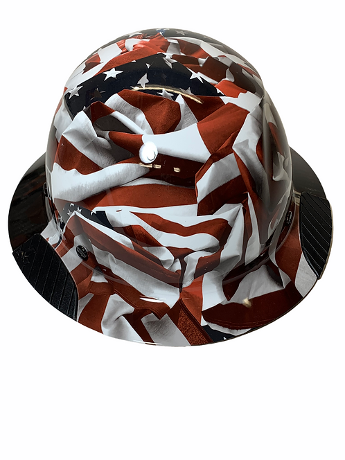 Black and White American Flags DAX Fifty 50 HDF50C-19H