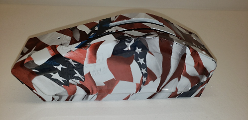 Hydro Dipped B&M Shifter Covers American Flags