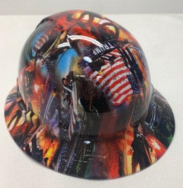 Hydro Dip Trump Lift Briggs HBFC-7G Full Brim Vented Hard Hat