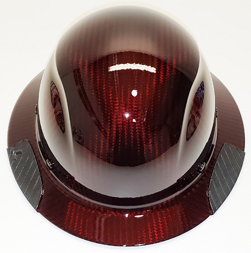 Custom Translucent Red Lift DAX Carbon Fiber HDC-15KG  Full Bri