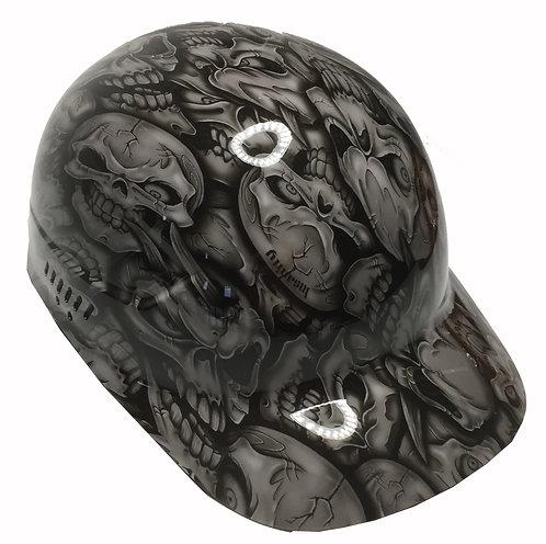 Light Grey Insanity Skull Bump Cap