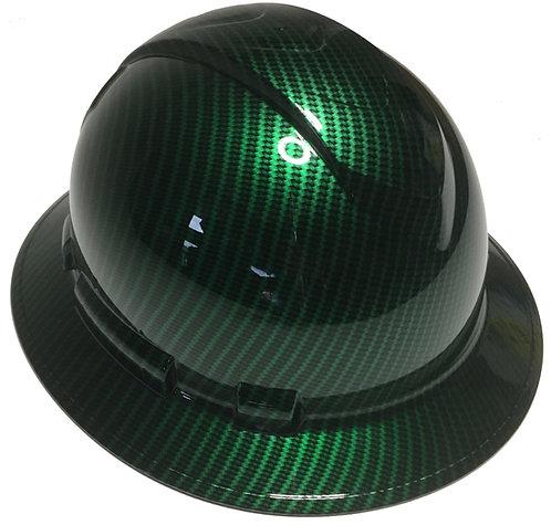Ridgeline Full Brim Green Kandy Carbon Fiber