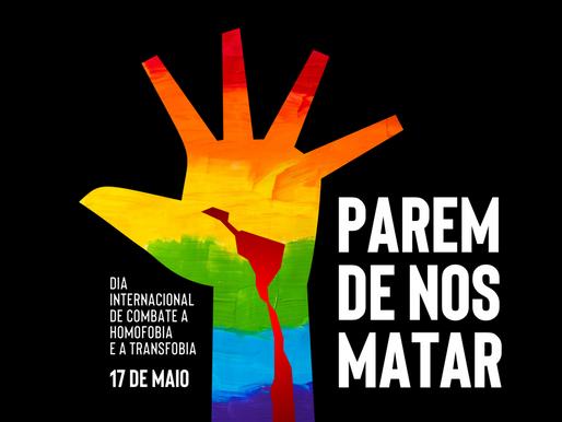 O 17 de maio é o Dia Mundial de Combate à LGBTfobia