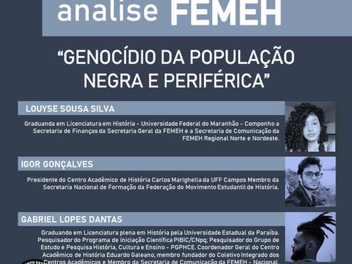 GENOCÍDIO DA POPULAÇÃO NEGRA E PERIFÉRICA