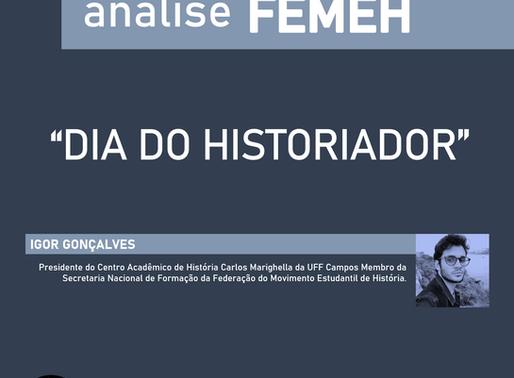 Dia 19 de Agosto - Dia do historiador
