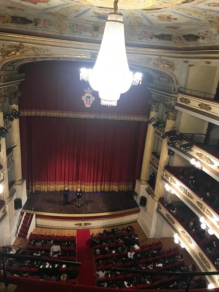 Il teatro Chiabrera
