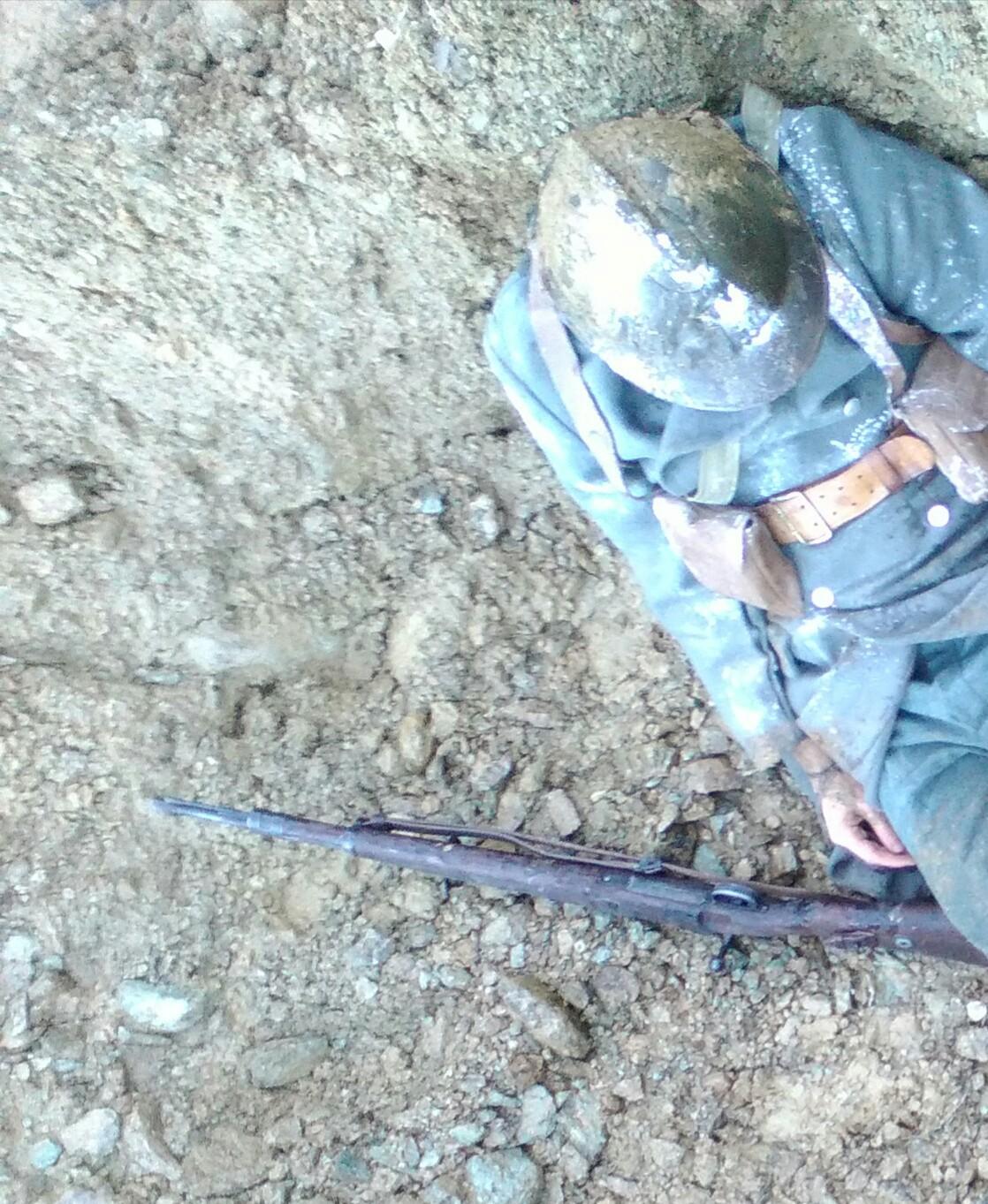 Morto nel fango