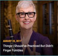 Fingering Fumbles (Middle School)