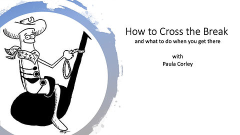 A step-by-step guide for crossing the break on clarinet.